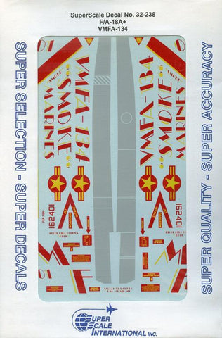 SuperScale Decals 1:32 F/A-18A VMFA-134 #32-238 N/A SuperScale_Decals