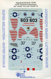SuperScale Decals 1:72 P-47 D Thunderbolt Bubble Tops 527th FS/86th FG #72-879 N/A SuperScale_Decals