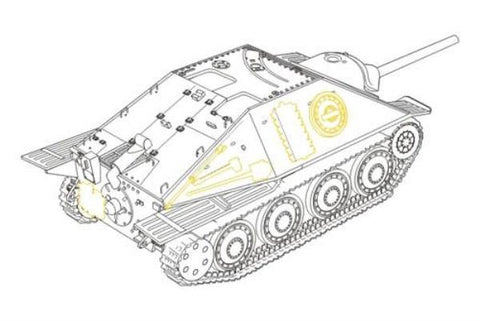 CMK 1:48 Hetzer G-13 Swiss Post-War Version For Tamiya Resin #8010 N/A CMK