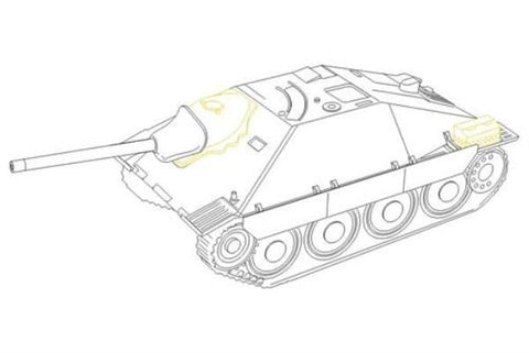 CMK 1:48 Hetzer Early and Late Exterior For Tamiya Resin #8012 N/A CMK