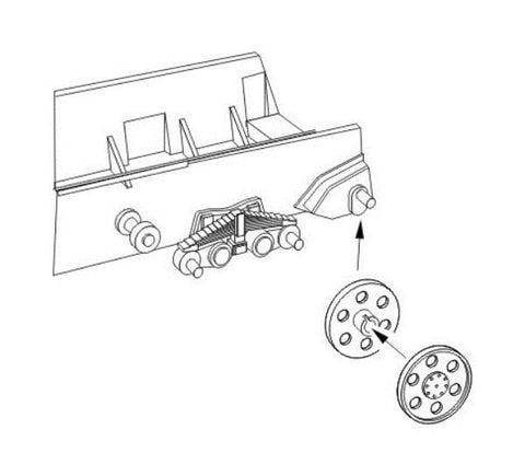 "CMK 1:48 Jagdpanzer 38 Hetzer ""Idler Wheels"" for Tamiya Kit #B48066 N/A CMK"