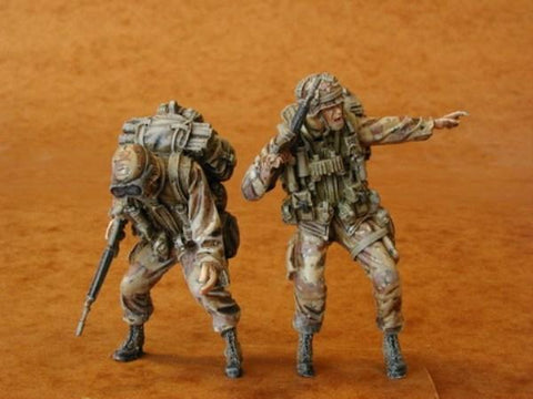 CMK 1:35 US Airborne Uh-60 Crew I Resin Figure Kit #F35069 N/A CMK