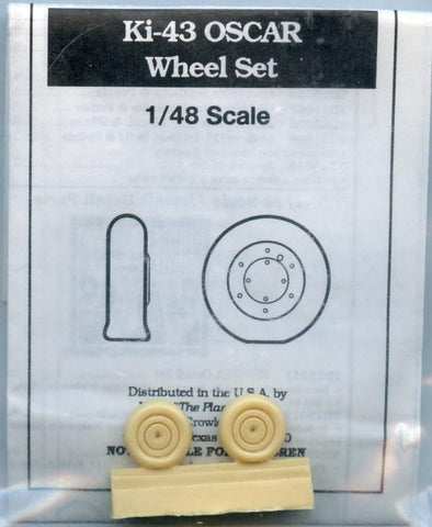 True Details 1:48 Ki-43 Oscar Wheel Resin Detail Set #46021U1 N/A True Details