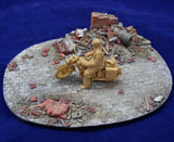 Alliance Model Works 1:35 Small European Ruin Resin Diorama Base #LW35001 N/A Alliance Model Works