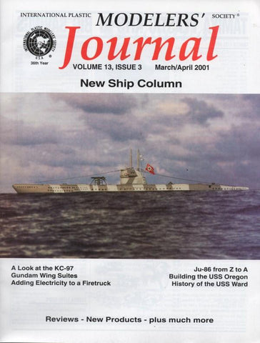 IPMS Journal March/April 2001 Vol 13 #3 Magazine N/A IPMS