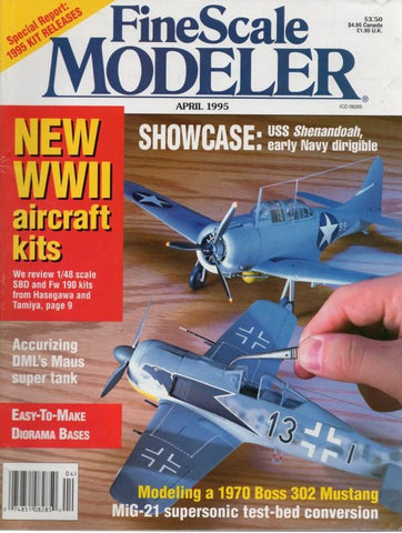 Fine Scale Modeler April 1995 Volume 13 Number 4 Magazine