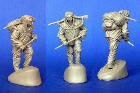 MasterClub 1:35 WWII Soviet High Mountainous Group 42-43 Soldier Resin #MCF35036 N/A Master Club