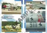 Montex Decals 1:72 Mig-21 MF for Zvezda Model #MD7201 N/A Montex Mask