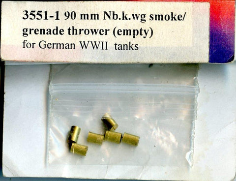 Model Point 1:35 WWII German Tank Nb.K.Wg 90mm Smoke Grenade Canisters #3551-1