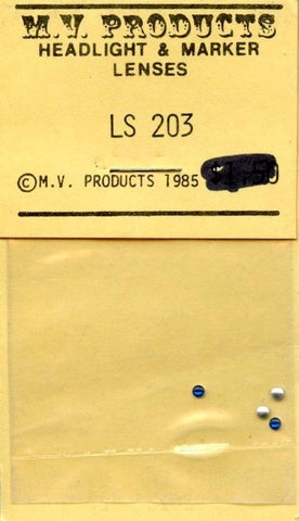 M.V. Products 1:24 Aircraft Formation Lights (4 Blue Lenses) #LS203 N/A M.V. Products