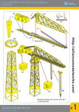 Alliance Model Works 1:700 USN 20t Tower Crane (Early) #NW70031