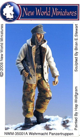 New World Miniatures 1:35 Wehrmacht Panzertruppen Resin Figure Kit #NWM-35001A N/A New World Miniatures