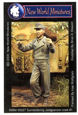 New World Miniatures 1:35 Surrendering Jagdpanzer Crew #1 Resin Fig. #NWM-35027 N/A New World Miniatures