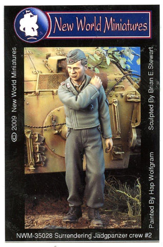 New World Miniatures 1:35 Surrendering Jagdpanzer Crew #2 Resin Fig. #NWM-35028 N/A New World Miniatures