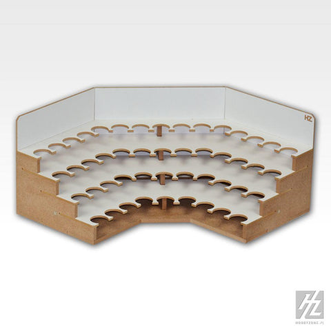 Wooden modulated workshop system components Assembly required