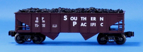 K-Line 1:48 O Scale Southern Pacific SP #6270 Hopper w/ Coal Load Car