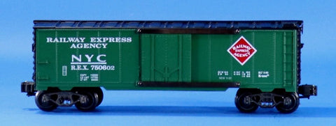 K-Line 1:48 O Scale New York Central NYC 750602 Railway Express Agency Reefer Car
