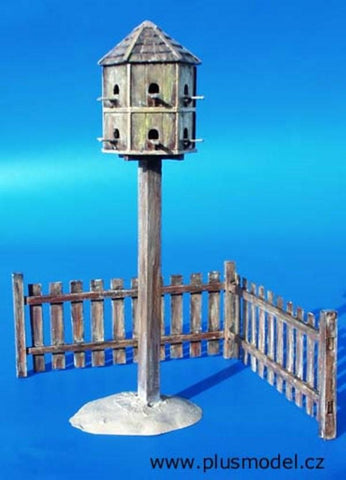 Plus Model 1:35 Pigeonry Resin Diorama Accessory #015 N/A Plus Model
