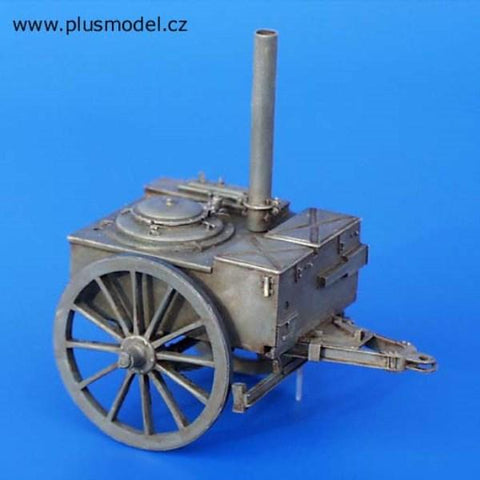 Plus Model 1:35 German Field Kitchen Resin Diorama Accessory #120 N/A Plus Model