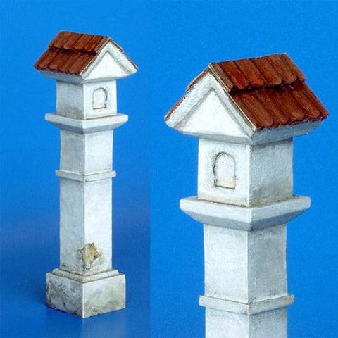 Plus Model 1:35 Pillar Chapel Resin Diorama Accessory #173 N/A Plus Model