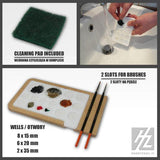 Hobby Zone Workshop System Acrylic Paint Palette #HZ-PM1