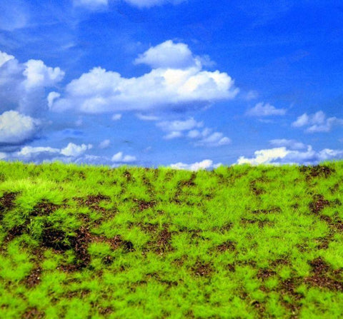 Reality In Scale Wild Grass & Hills Type 3 - Dark Brown Earth Light Green #MAT09 N/A Reality In Scale