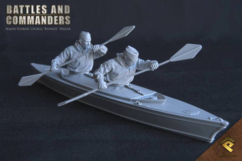 Unassembled Unpainted Figure Model Kit