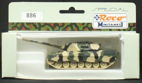 Roco Minitanks HO Scale Leopard 1A5 Main Battle Tank - Plastic Model #886 N/A Minitank