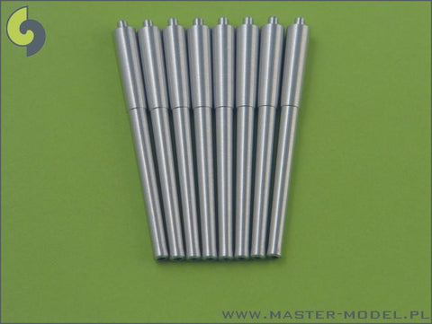 Master 1:350 British 15 Inch L/42 Mark I Barrel Without Blastbags 8pc #SM350037 N/A Master Model