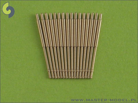 Master 1:700 German 10.5cm 4.1 Inch SK C/33 Barrels Early Type 16pc #SM700003 N/A Master Model