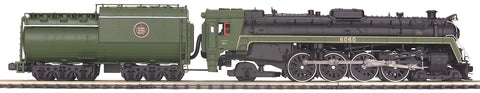 MTH 1:48 O Scale Canadian National 4-8-2 U1F Mountain Steam Engine w/Proto-Sound 2.0 Car Model #20-3057-1U