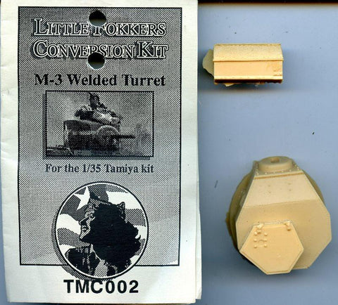 Little Fokkers Conversion Kit 1:35 M-3 Welded Turret for Tamiya Kit #TMC002 N/A Little Fokkers