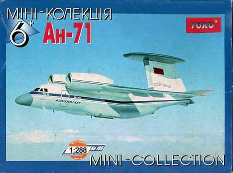 Toko 1:288 AH-71 Mini Collection Plastic Aircraft Model Kit #109U N/A TOKO