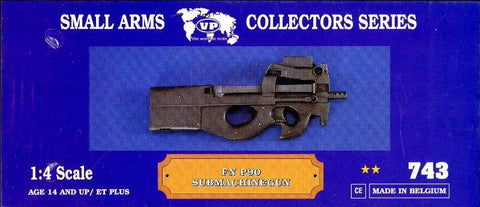 Verlinden 1:4 Small Arms Collectors Series FN P90 Submachinegun Resin Kit #743 N/A Verlinden