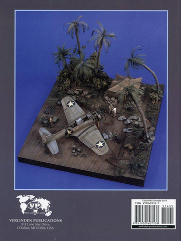 Verlinden Modeling Detailing Painting Weathering WWII Aircraft Vol III #1768