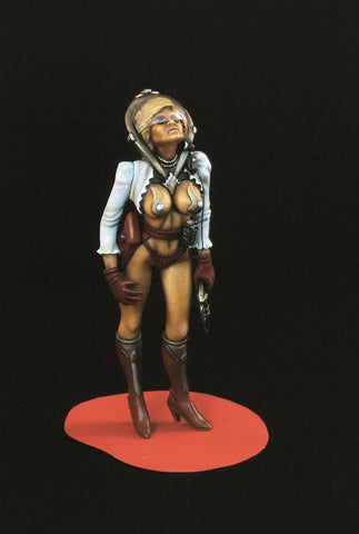 Verlinden Built 120mm 1:16 Space Woman Original Display #VPB1075 N/A Verlinden Productions