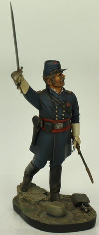 Verlinden 120mm 1:16 Union Infantry Officer Civil War Original Display #VPB1213 N/A Verlinden Productions