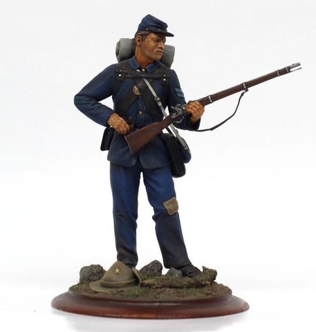 Verlinden Built 1:16 Union Army Infantry Corporal 1863 Original Display #VPB1226 N/A Verlinden Productions