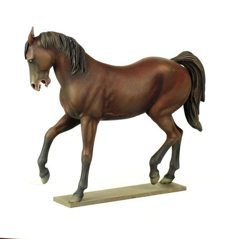 Verlinden Built 1:16 120mm Bare Horse II Performing Original Display #VPB1233 N/A Verlinden Productions