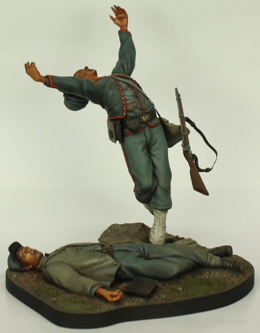 Verlinden Built 120mm 1:16 Eternal Glory Vignette Original Display #VPB1325 N/A Verlinden Productions