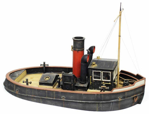 Verlinden Built 1:35 River - Harbor Tugboat (Tug) WWII Original Display #VPB2375 N/A Verlinden Productions