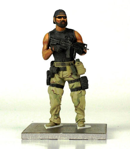 Verlinden Built 1:16 120mm US Special Forces Soldier Original Display #VPB2573 N/A Verlinden Productions