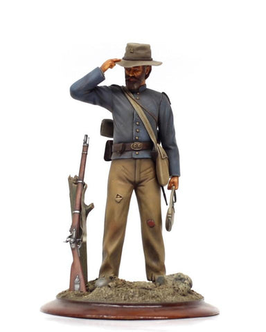 Verlinden Built 1:16 120mm Civil War Union Soldier Original Display N/A Verlinden Productions