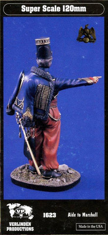 Verlinden Productions 120mm 1:16 Aide to Marshall Resin Figure #1623 N/A Verlinden Productions