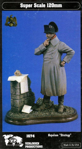 Verlinden Productions 120mm 1:16 Napoleon Strategy - Resin Figure Kit #1674 N/A Verlinden Productions