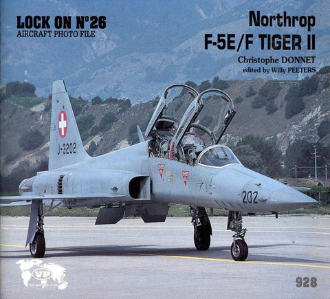 Verlinden Publications Lock On No.26 Northrop F-5 E/F Tiger II Book #928 N/A Verlinden Publications