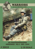 Warriors 1:35 SS Panzer Grenadier Ardennes No.3 Resin Figure Kit #35015 N/A Warriors
