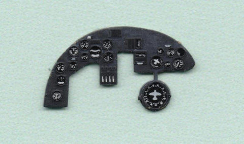 Yahu Model 1:72 Do 215 B-5 Color Instrument Panel for ICM Kit #YMA7213 N/A Yahu Model