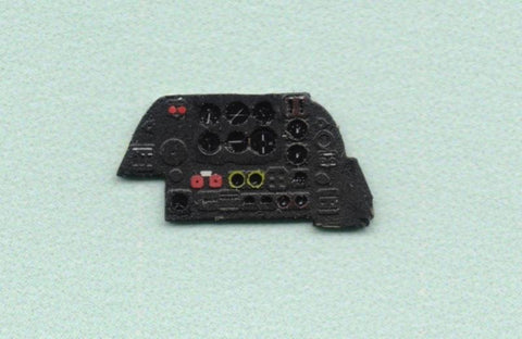 Yahu Model 1:72 Beaufighter Mk.VI Color Instrument Panel for Has Frog #YMA7223 N/A Yahu Model