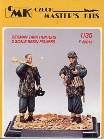 CMK 1:35 German Tank Hunters 2 Resin Figures Kit #F35013 N/A CMK